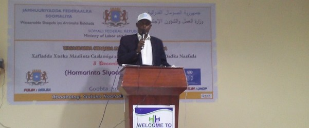 World Disabled Day celebrations coincide 3dec 2015 was held in Somalia.