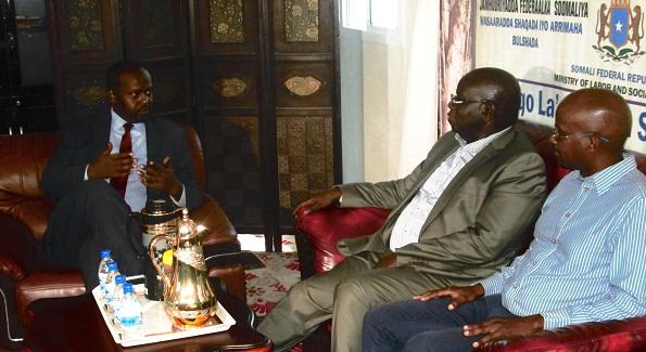ILO meeting with MOLSA 1