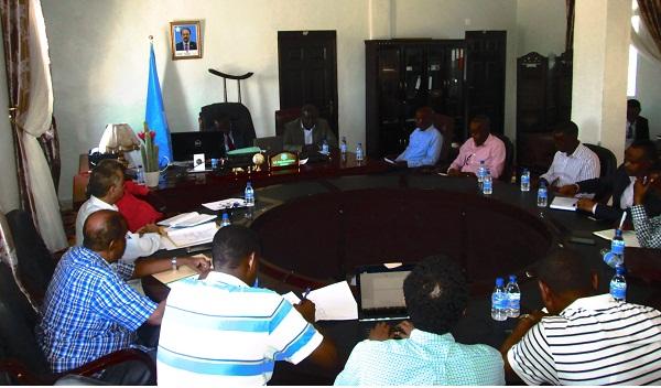 ILO meeting with MOLSA 9
