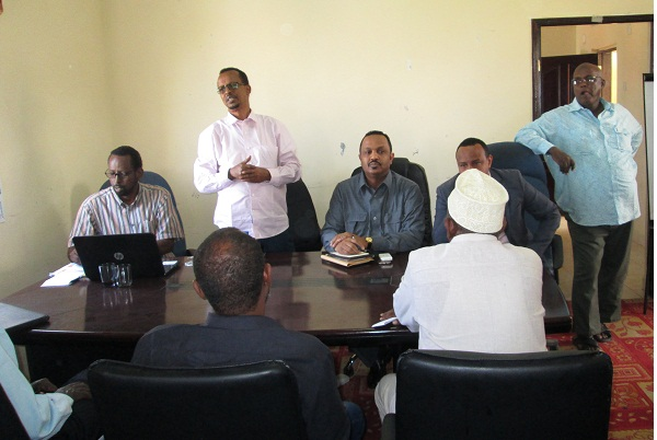 Pr Molsa Meeting of ministry staff with deputy minister 1