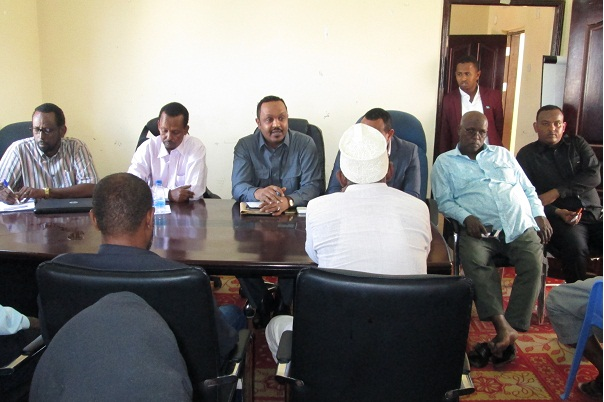 Pr Molsa Meeting of ministry staff with deputy minister 8